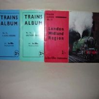 Three Ian Allen Publications Trains Album